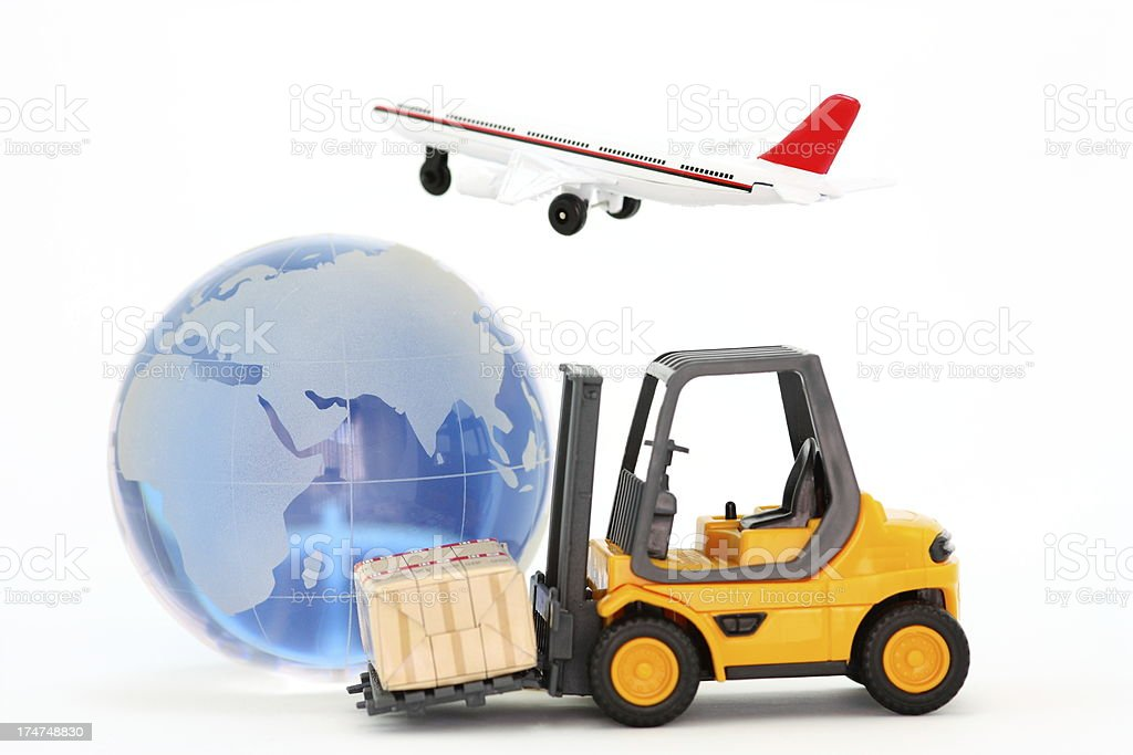 Global Transportation royalty-free stock photo