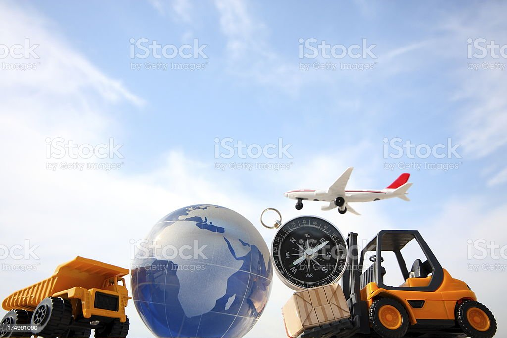 Global Transportation stock photo