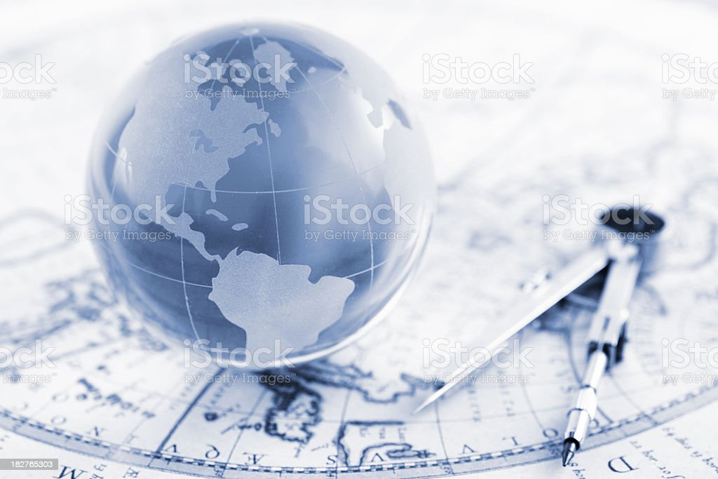 Global traveling royalty-free stock photo