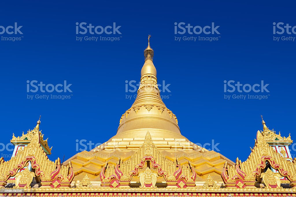 Global Vipassana Pagoda stock photo
