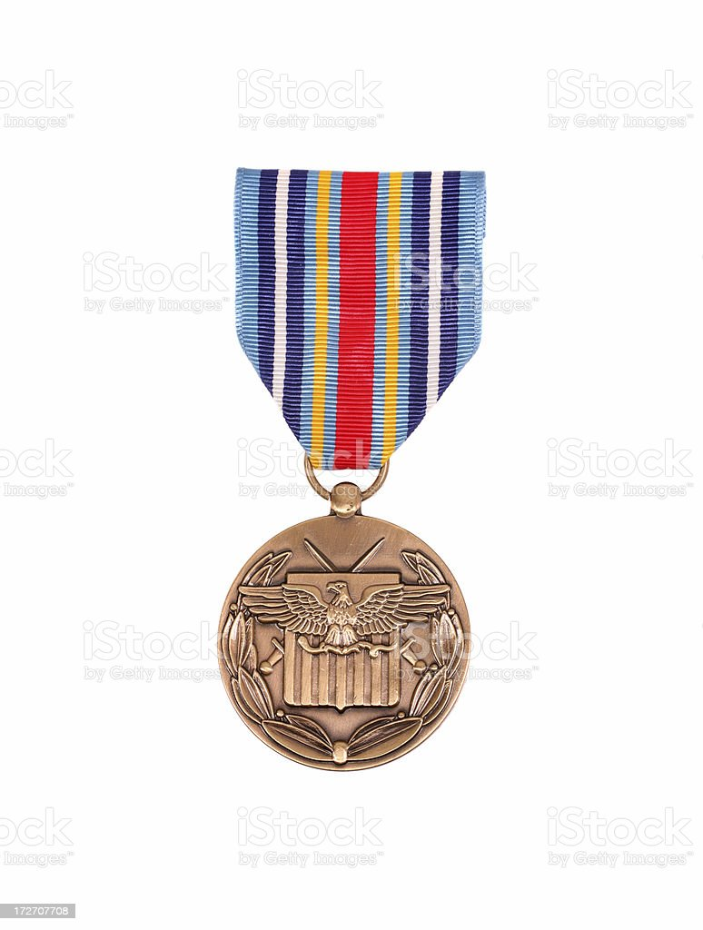 Global War on Terrorism Expeditionary Medal royalty-free stock photo
