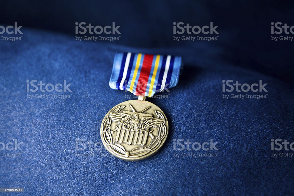 Global War on Terrorism Medal - Expeditionary   Front stock photo