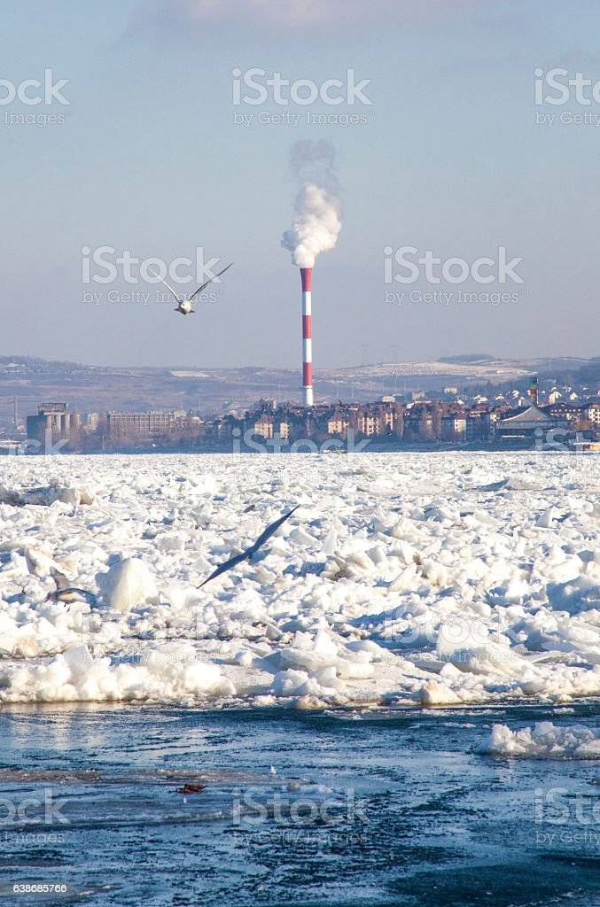 Global warming and climate change stock photo