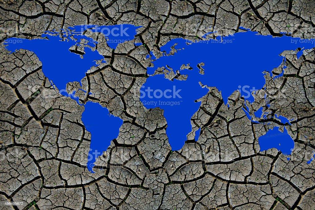Global warming. drought