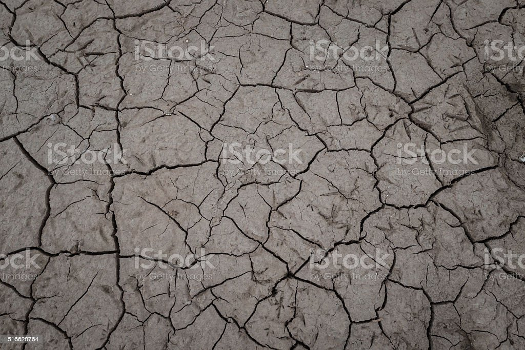 earth, Dried out land in drought
