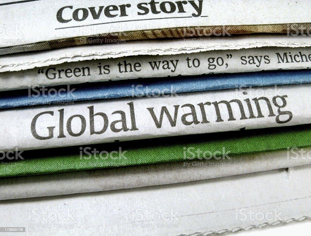 Global Warming royalty-free stock photo
