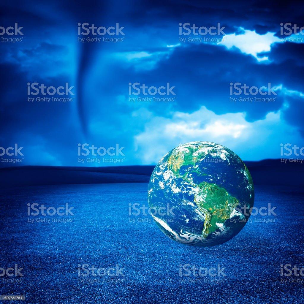 global warming stock photo