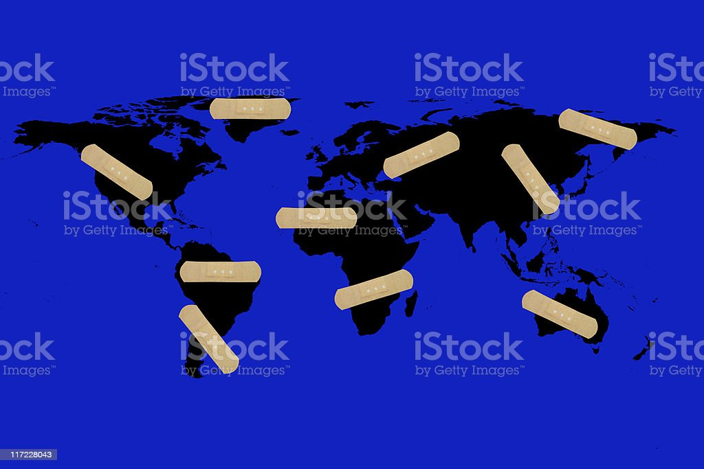 global warning stock photo