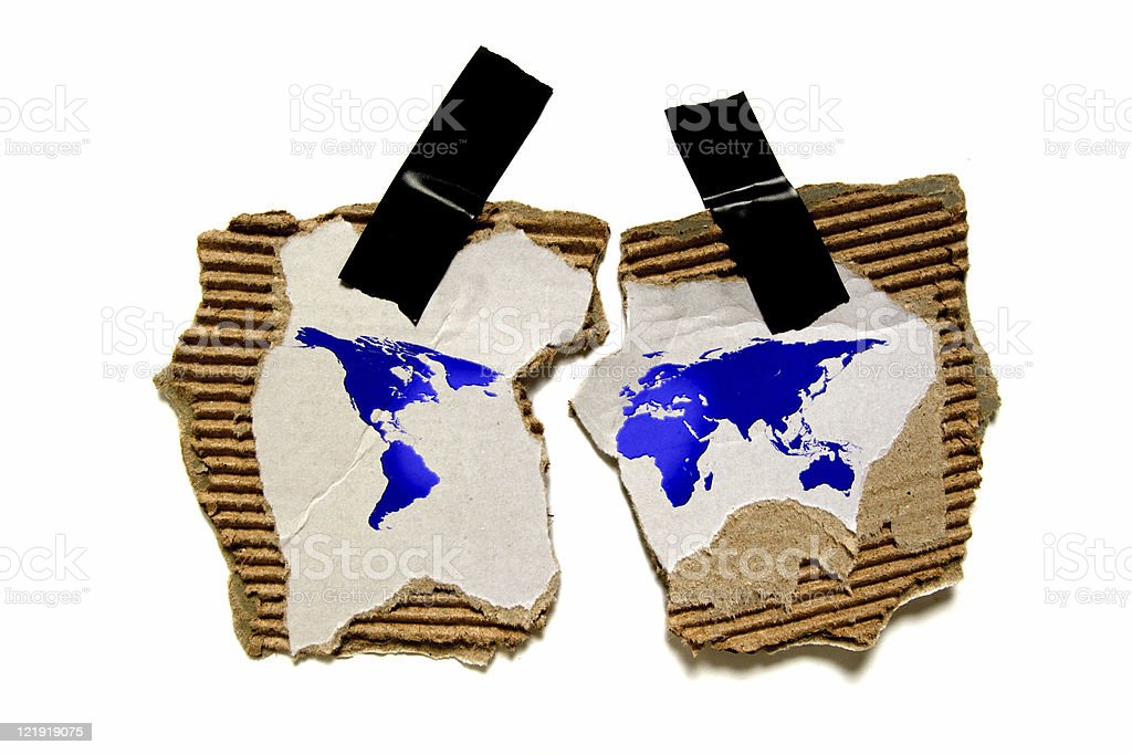 globalization royalty-free stock photo