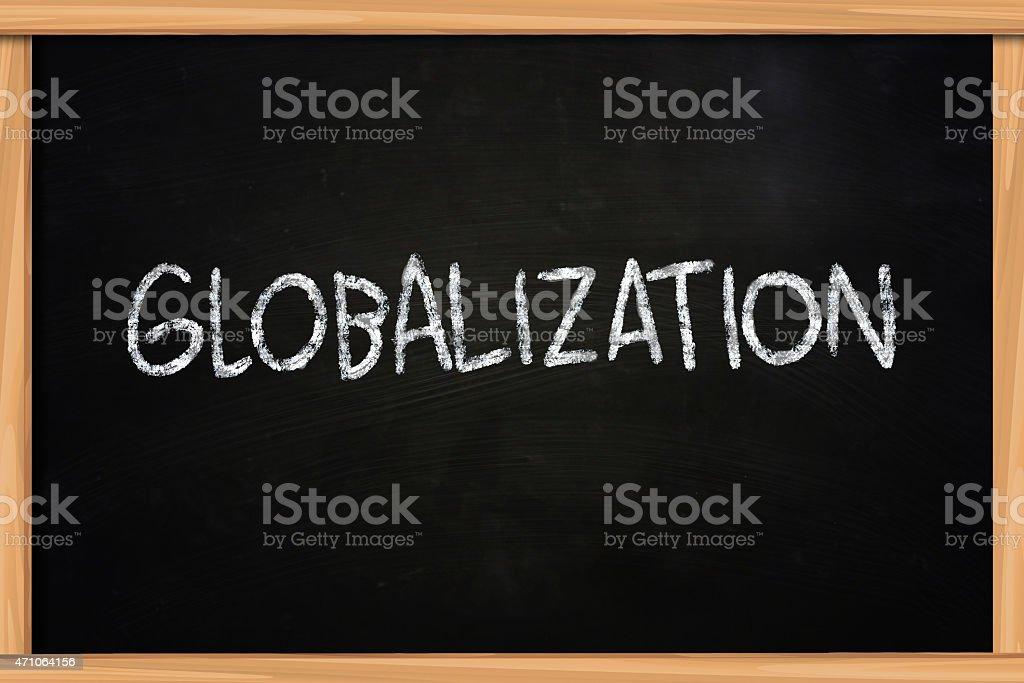 Globalization stock photo