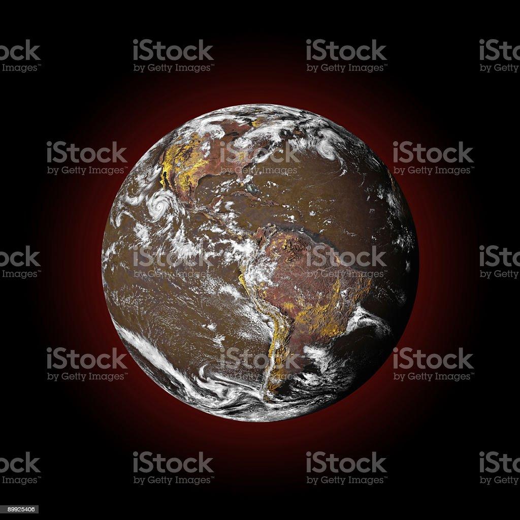 Globally Warmed royalty-free stock photo