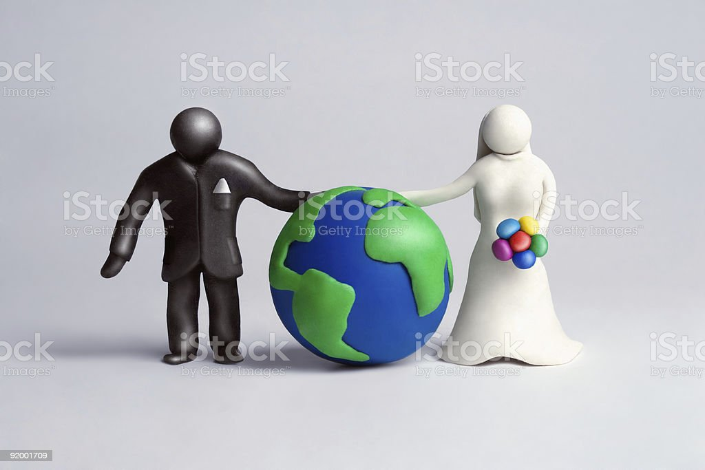 Globally yours stock photo