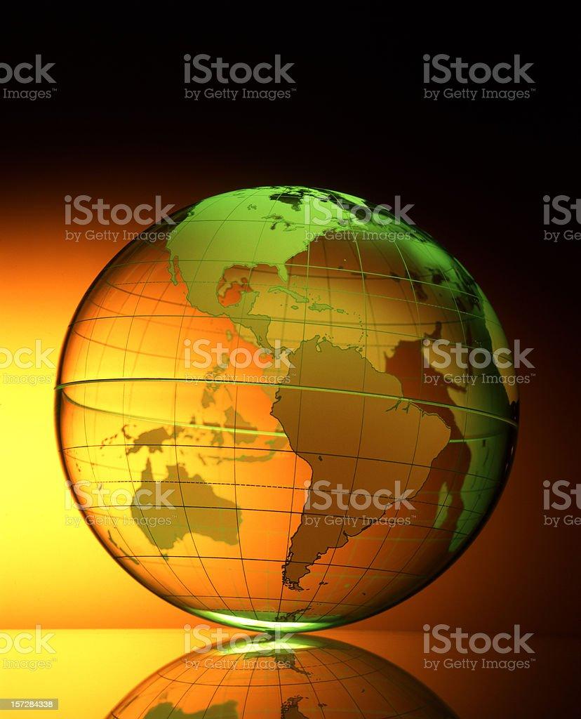 Globe 1 royalty-free stock photo