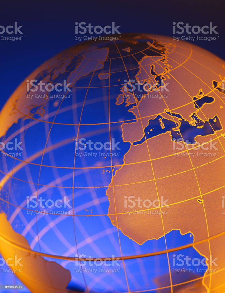 Globe 15 royalty-free stock photo