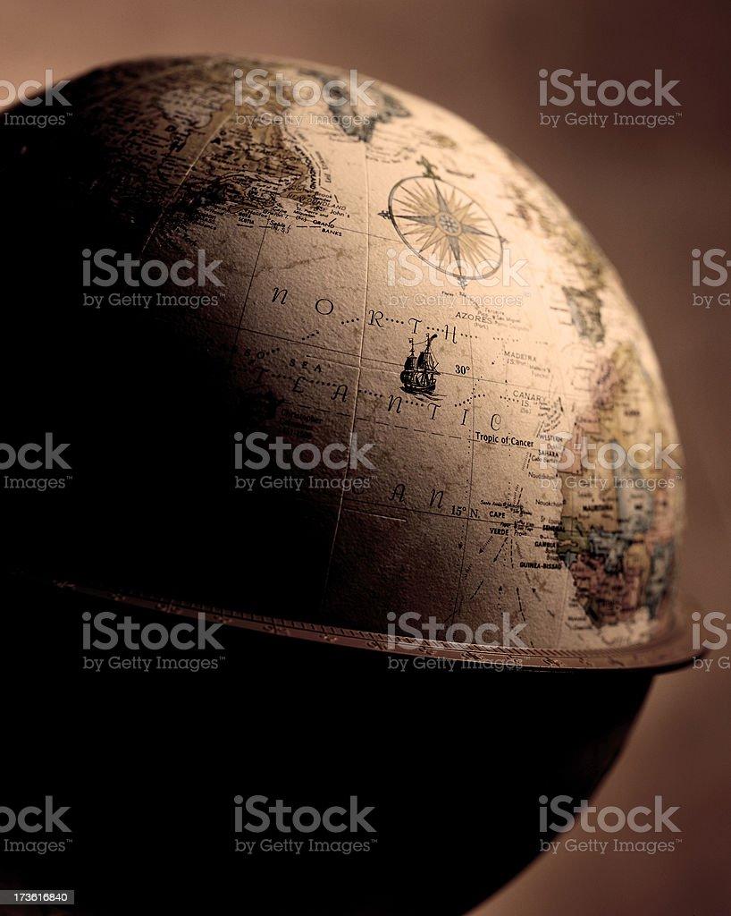 Globe 3 royalty-free stock photo