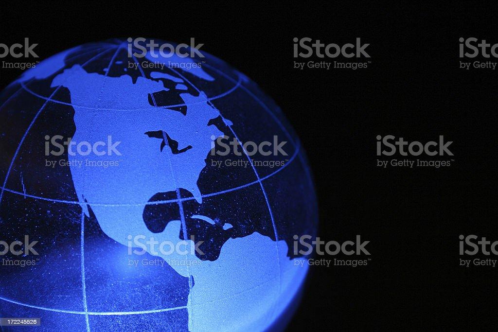 Globe and Health royalty-free stock photo