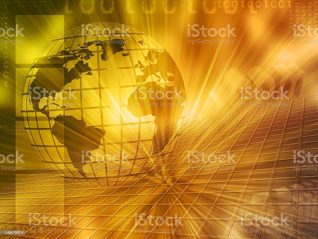 Globe background royalty-free stock photo