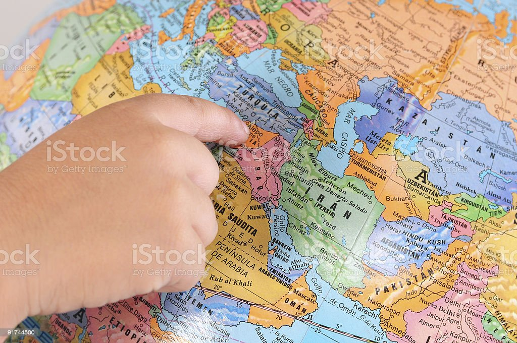 Globe. Concept of education. stock photo
