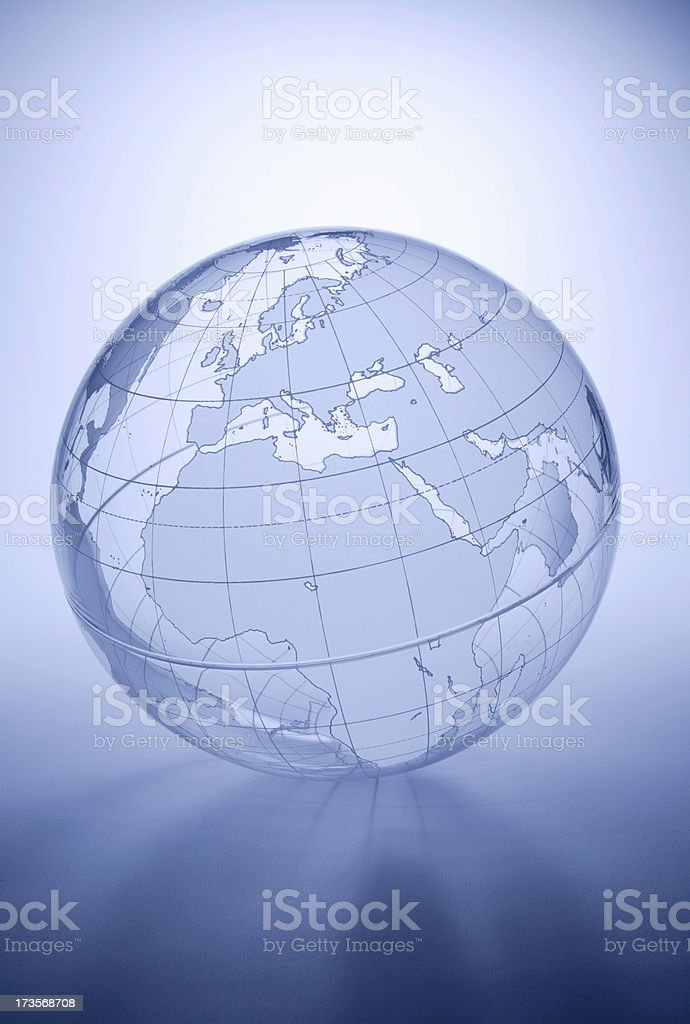 Globe - Europe, Africa, Middle East royalty-free stock photo