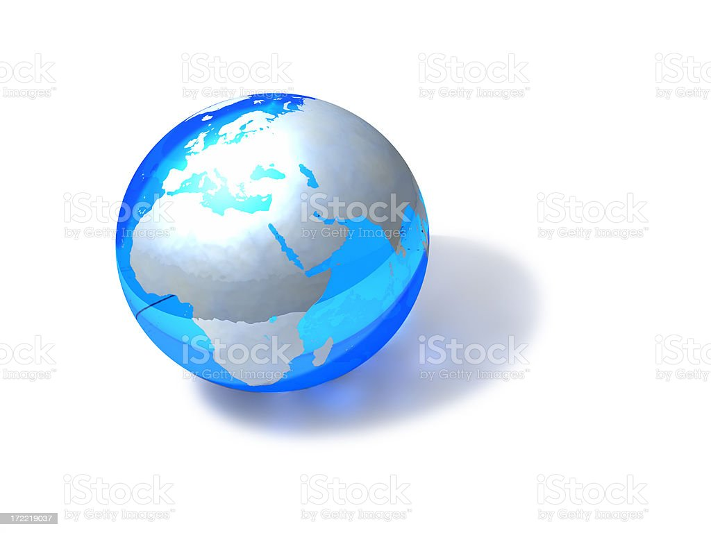 Globe - European royalty-free stock photo