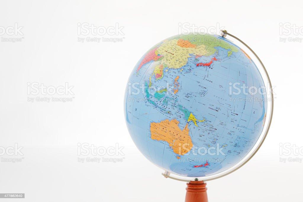 Globe Guam Saipan is captured stock photo
