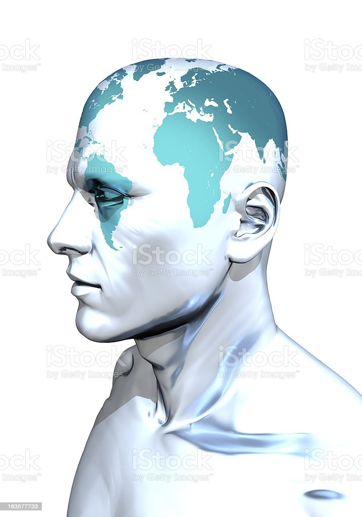 Globe Head stock photo