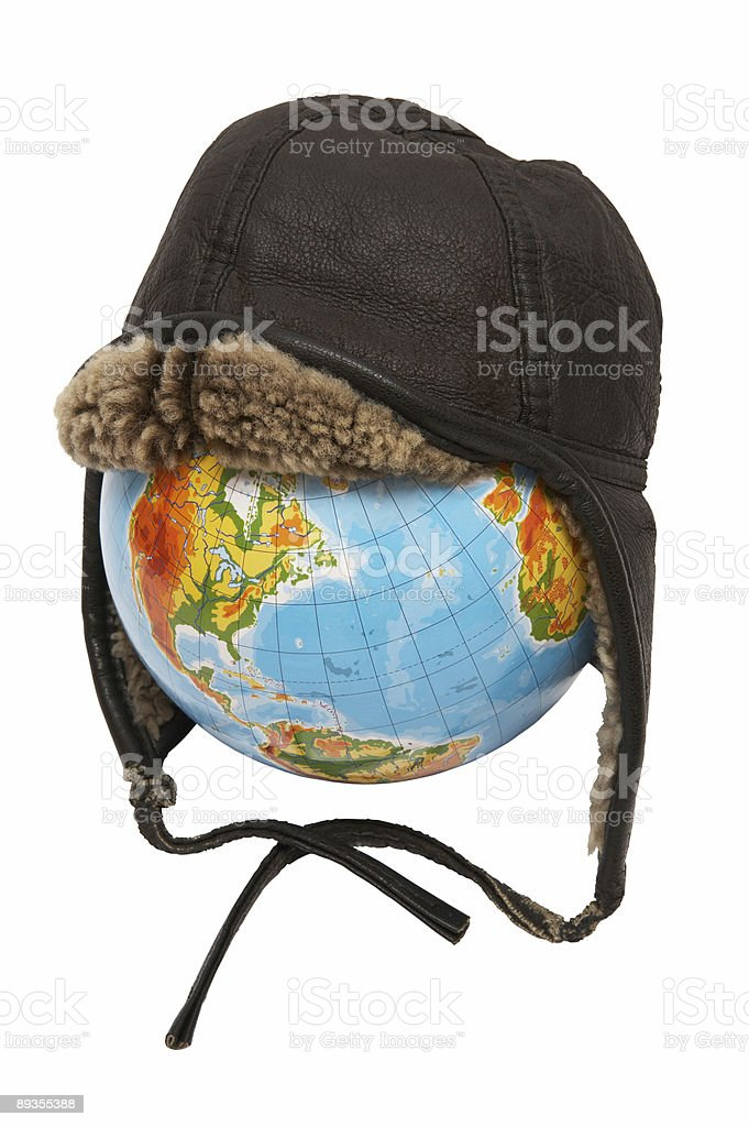 globe of the Earth royalty-free stock photo