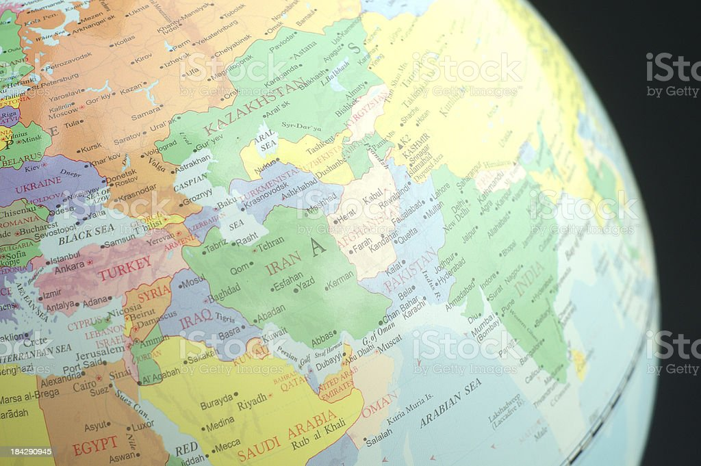 Globe One stock photo