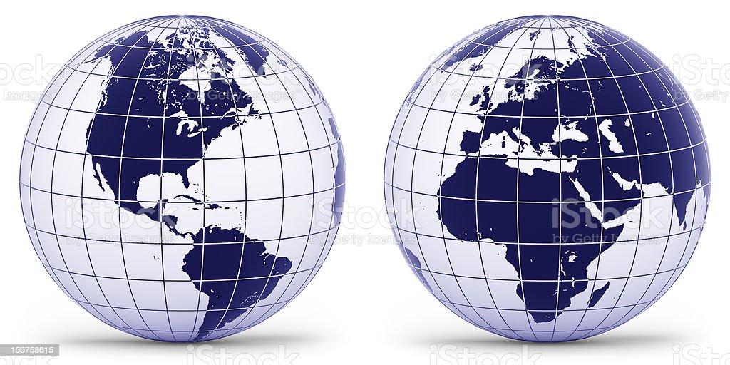 Globe royalty-free stock photo