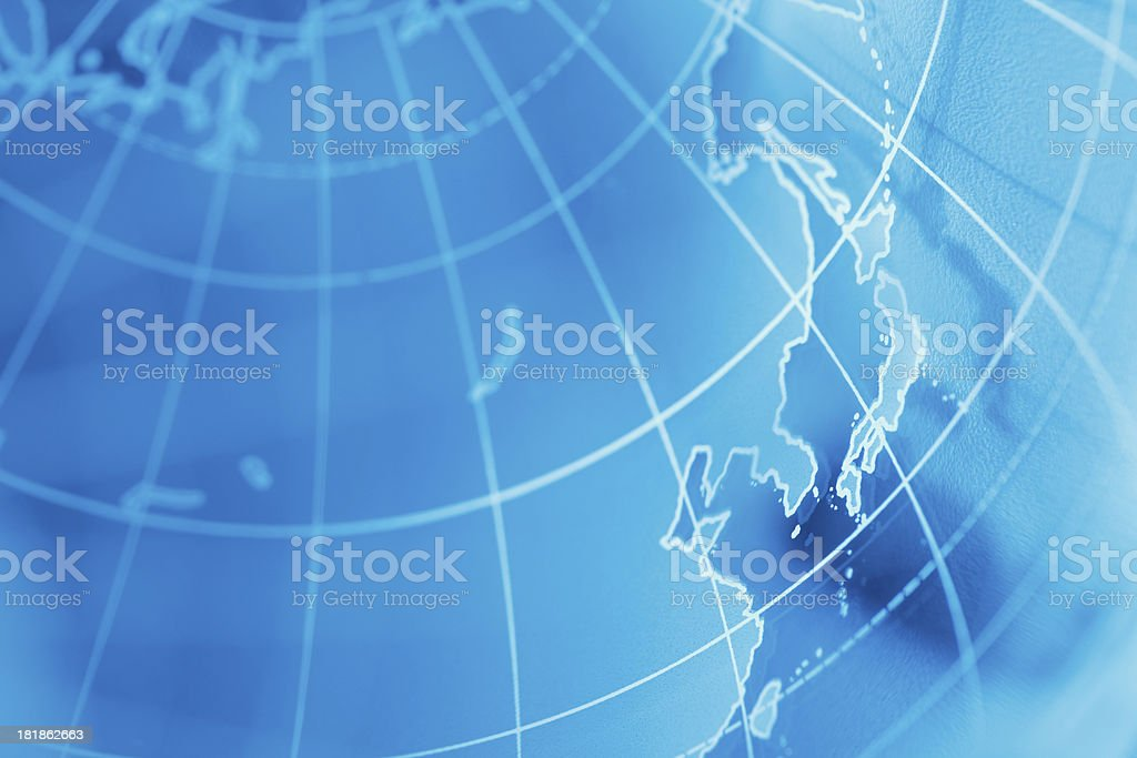 Globe royalty-free stock photo