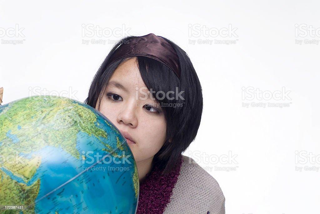 Globe Series royalty-free stock photo