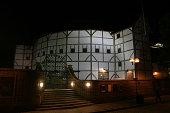 Globe Theater at Night, London