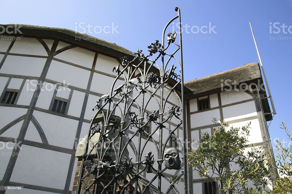 Globe Theatre royalty-free stock photo