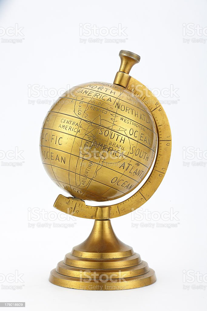 Globe-1 stock photo
