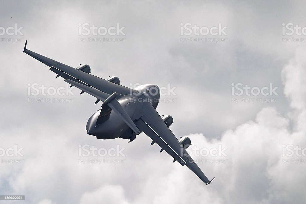 C-17 Globemaster III royalty-free stock photo