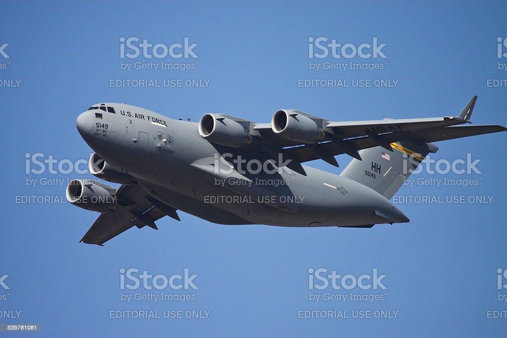 C-17 Globemaster stock photo