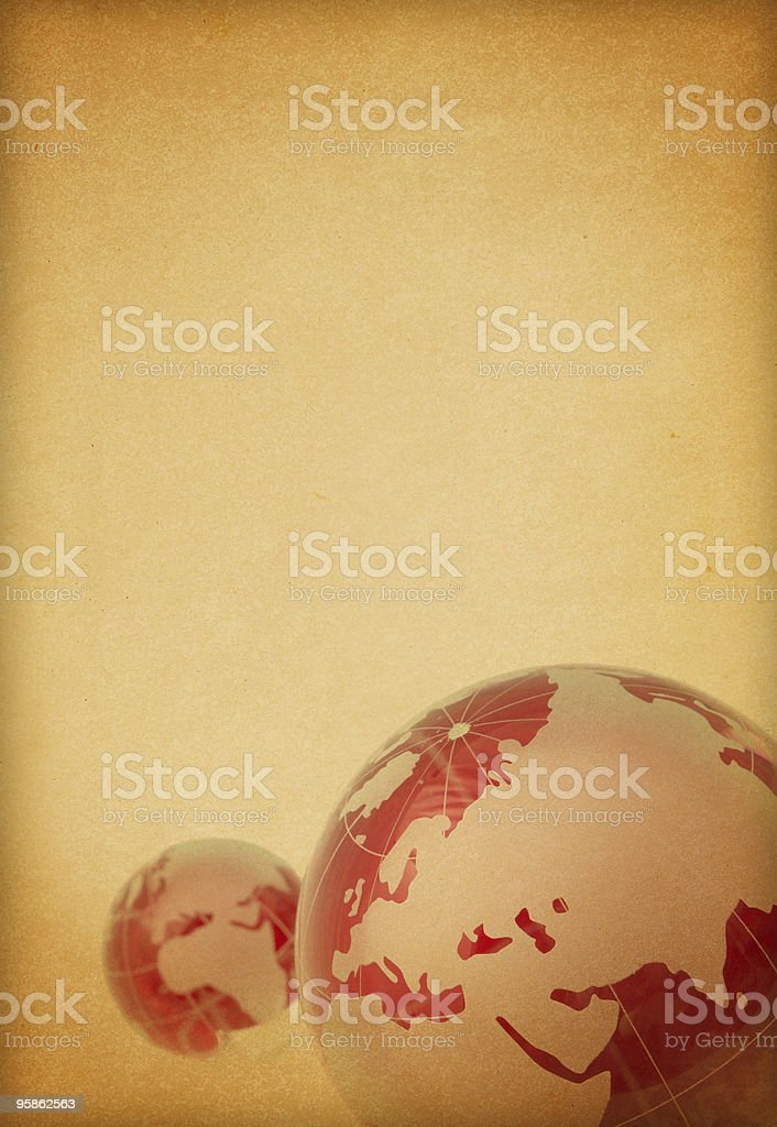 Globes royalty-free stock photo