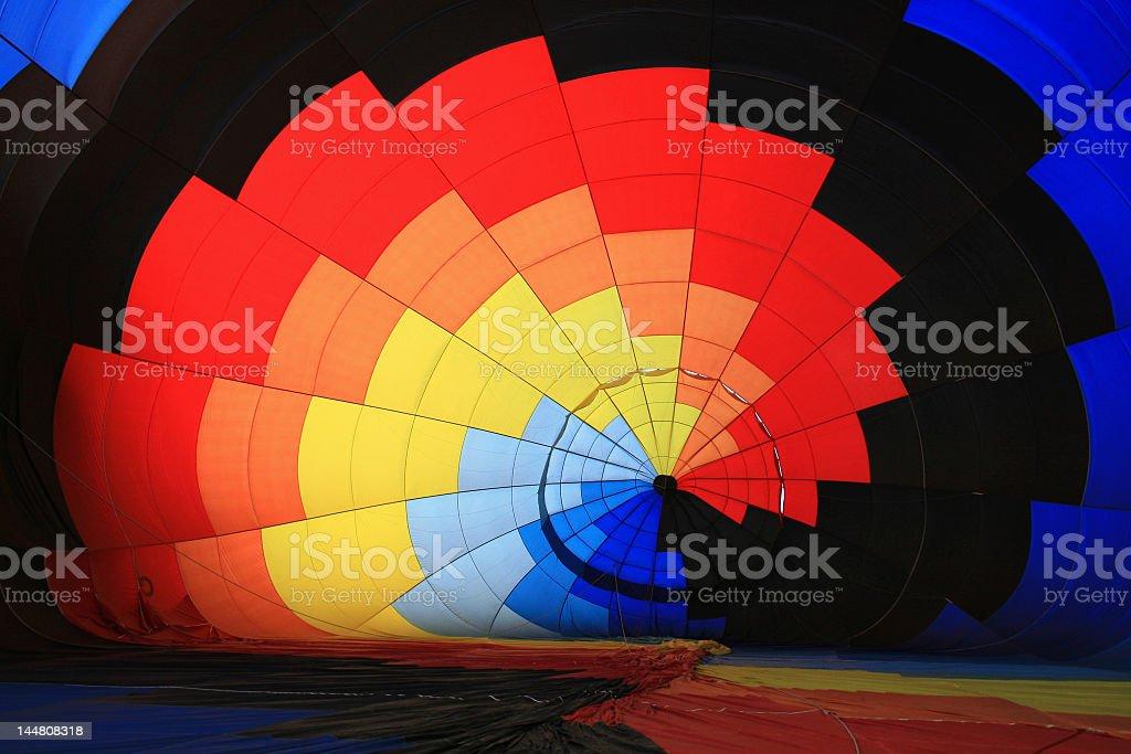 Globo aerostático stock photo