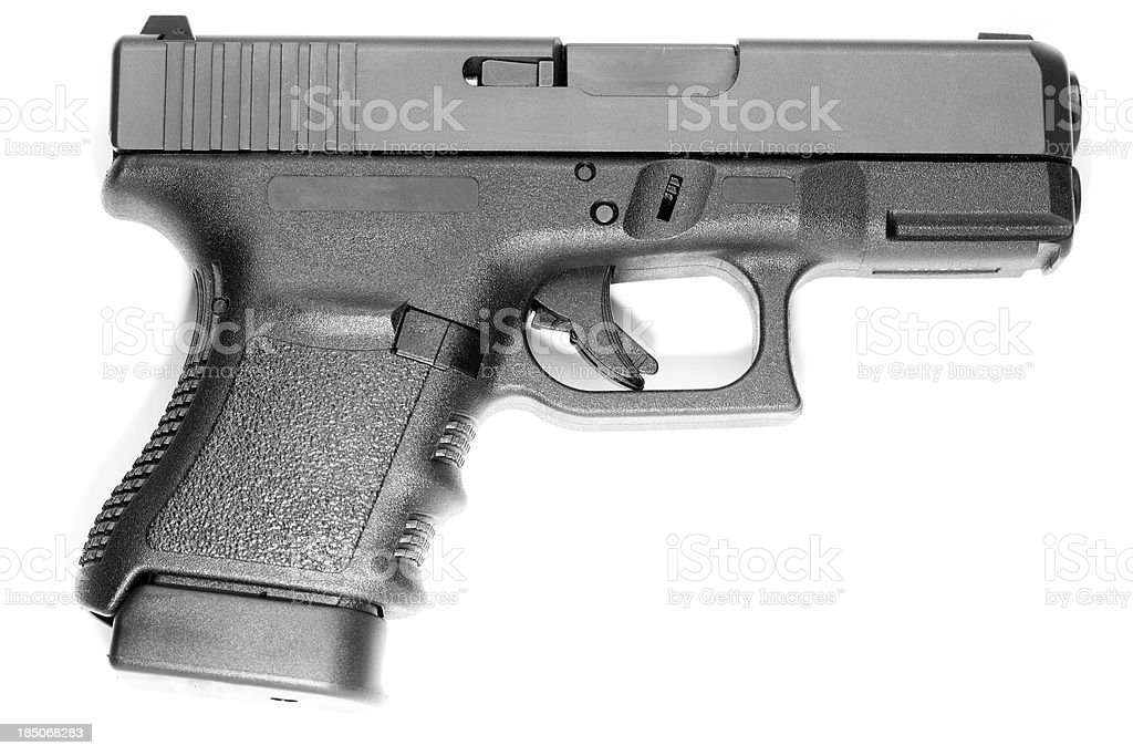 Glock 30SF - Side Detail, Logos Removed stock photo
