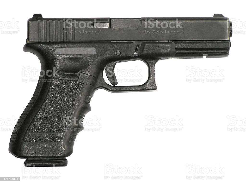Glock 9mm (2) stock photo