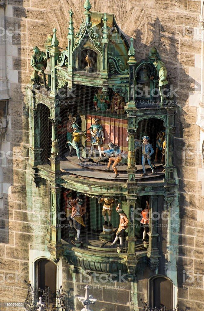 Glockenspiel, Munich stock photo