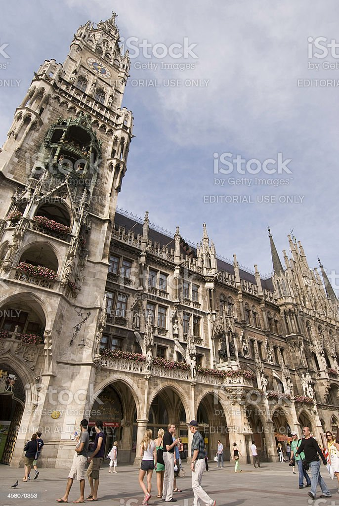 Glockenspiel of Munich royalty-free stock photo