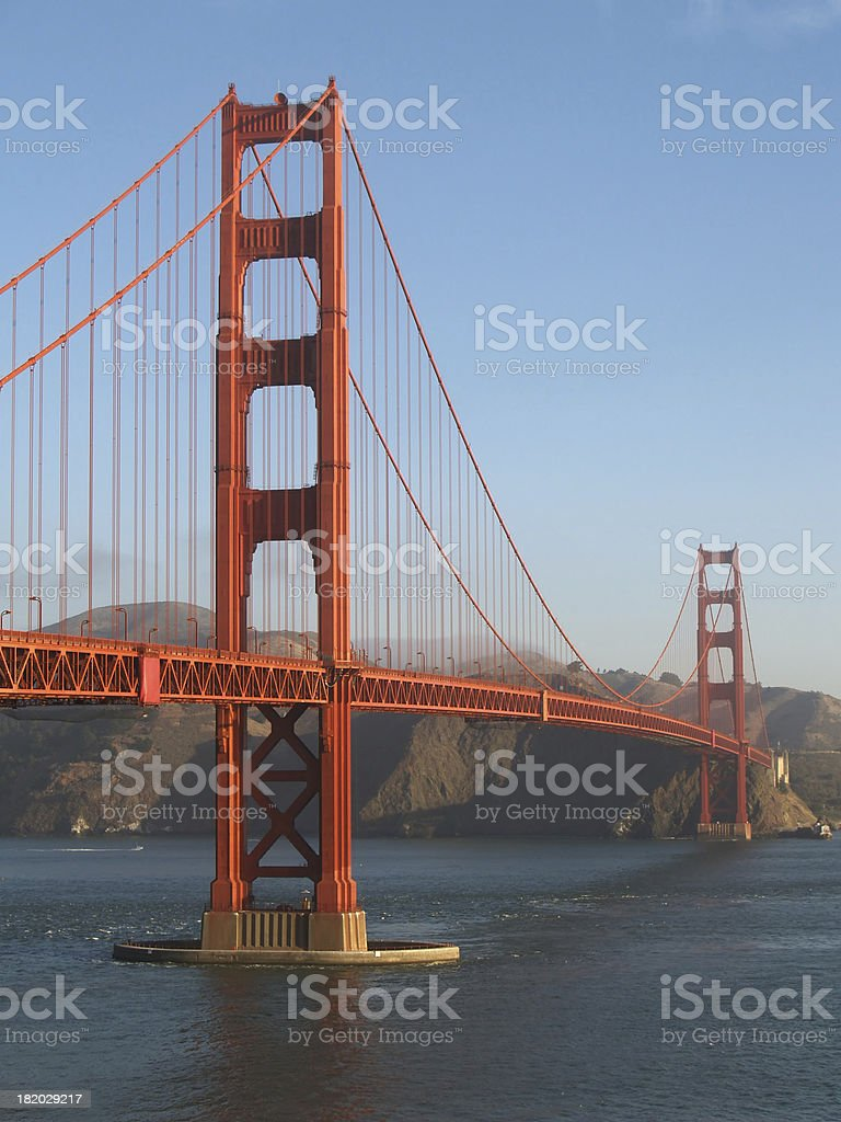 Gloden Gate Bridge royalty-free stock photo