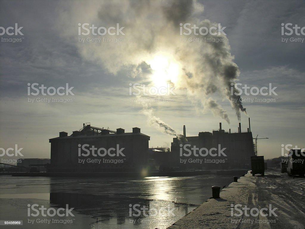 Gloomy Atmosphere stock photo