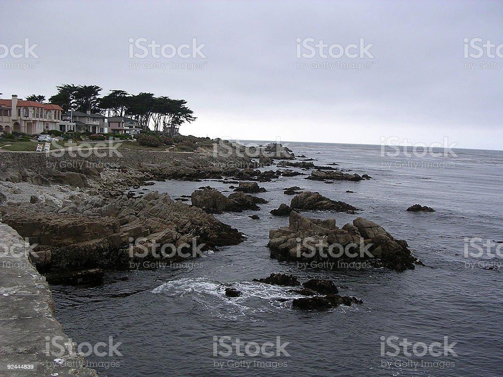 Gloomy Pacific _ 2 royalty-free stock photo