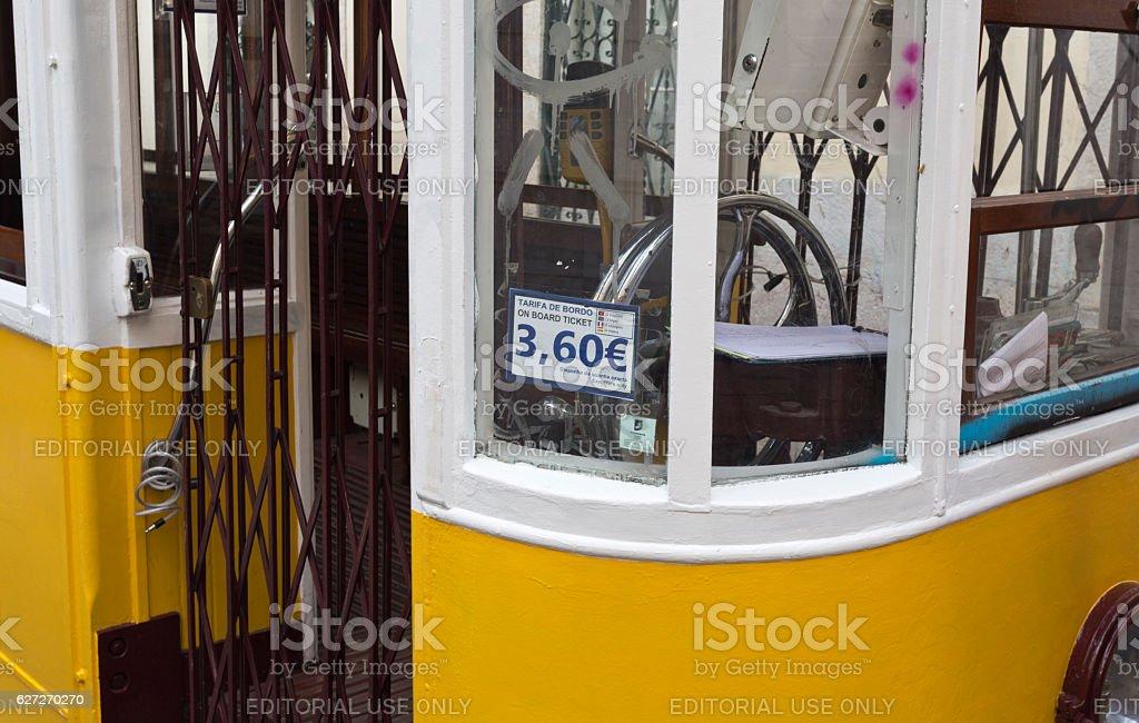 Gloria Funicular stock photo