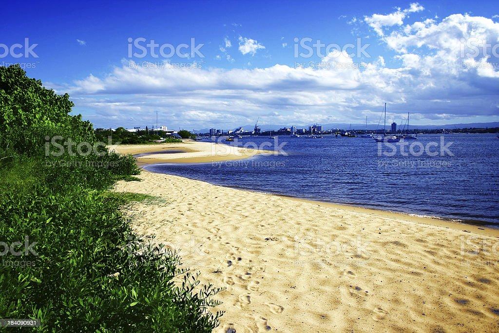 Glorious Beach royalty-free stock photo