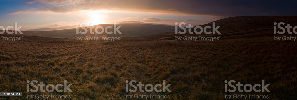 Glorious dawn royalty-free stock photo