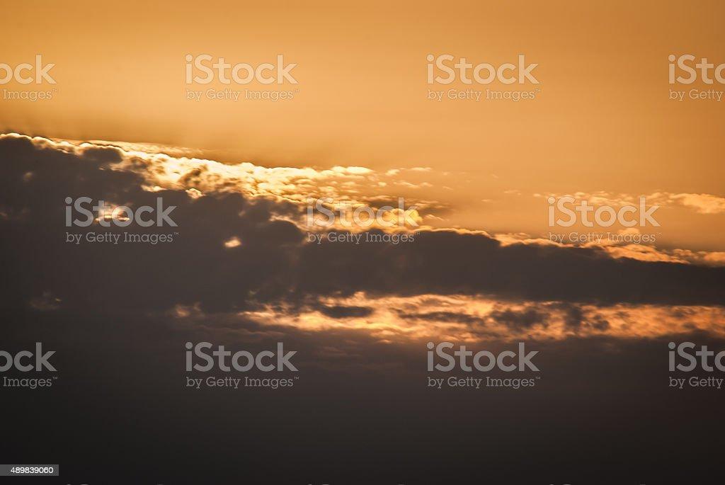 Glorious Morning Beautiful Sunrise or Sunset stock photo