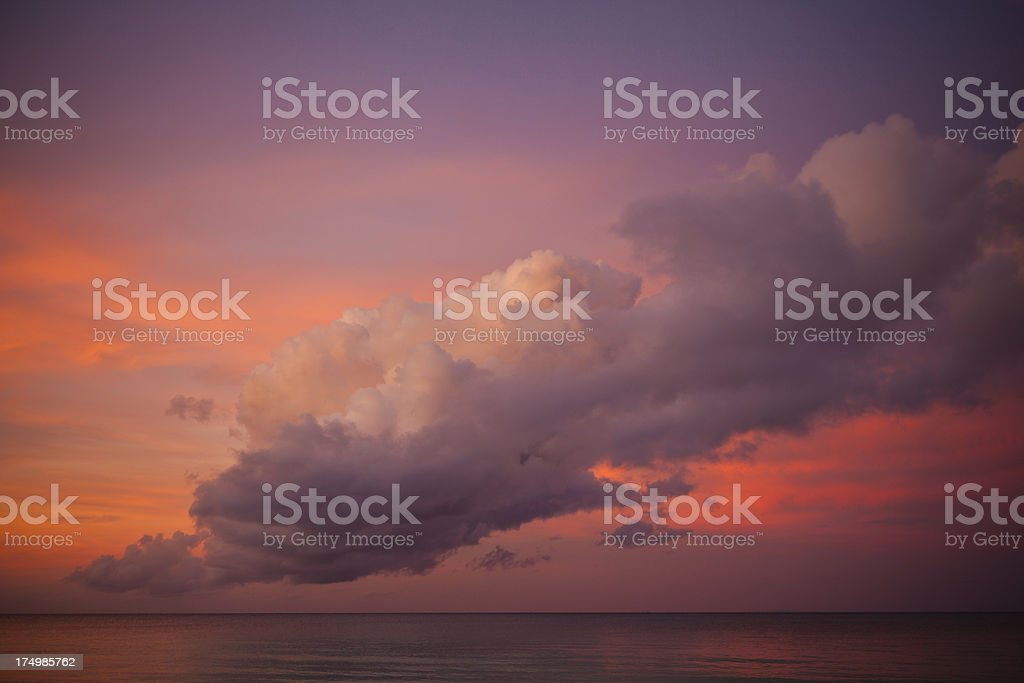 glorious morning seascape royalty-free stock photo